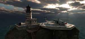 The Old Lighthouse by Rendermojo