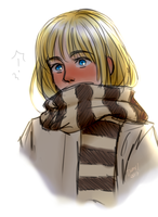 Armin blushing by EarthyD