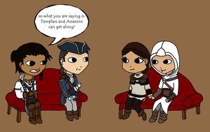 Assassin's Creed therapy by Mystiquas