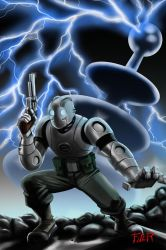 Atomic Robo web by Flyler