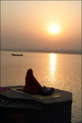 Benares sunset by pourquoipas