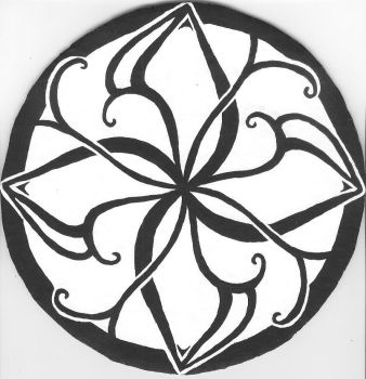 Celtic Knot, Floral by FlameoftheWest7