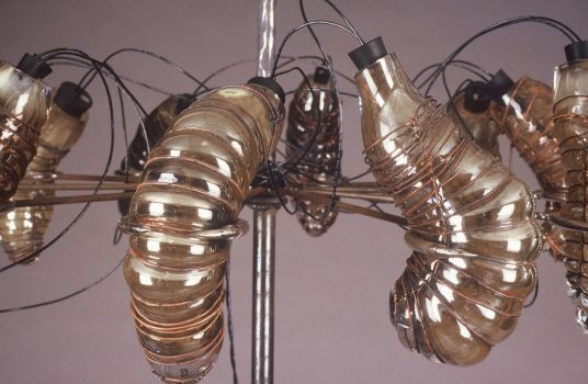 Untitled_larva lamp by Dith