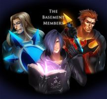 The Basement Members by LilyF