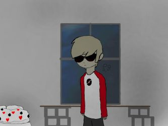Dave Strider Fanart by Shotgungamer8