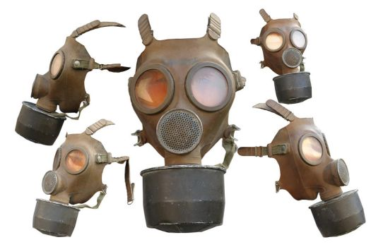 gas mask png by gd08