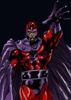 The Fury Of Magneto by BlueGeckoDesign