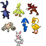 Five Nights at Freddy's Pokemon by NaoTheSillyDuffer