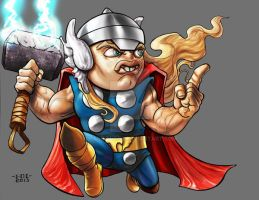 Lil Dude The Mighty Thor by MARR-PHEOS