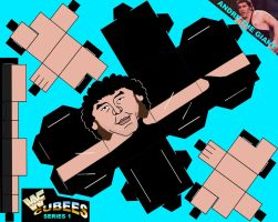 WWF CUBEES ANDRE THE GIANT by Saikyo-Master