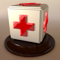 feliciaHeal Emote in 3D by panzi