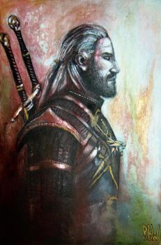 Geralt of Rivia by Rhyn-Art