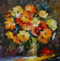 Colors Of Summer by Leonid Afremov by Leonidafremov