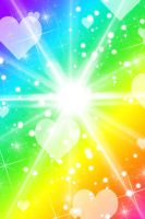 FREE: Rainbow Burst Background by Magical-Mama