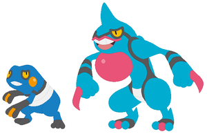 Croagunk and Toxicroak Base