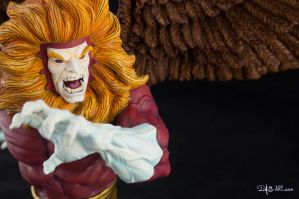 [Garage kit painting #09] Griffin bust - 023 by DasArt