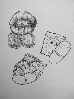 tattoo sketches by saysoifyouwantto