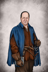 Portrait of an Author by Tatter-Hood