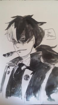 Simon Blackquill by LawTeresu