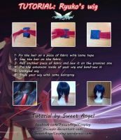 TUTORIAL - Ryuko's wig by MiciaGlo