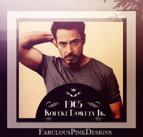 Robert Downey Jr Vintage 1965 by FabulousPinkDesignsW