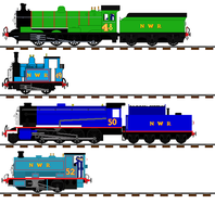 Number 8 10 13 and 20's NWR looks by islandofsodorfilms