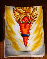 Super saiyan carrot the ultimate vegetable  by xprotector10