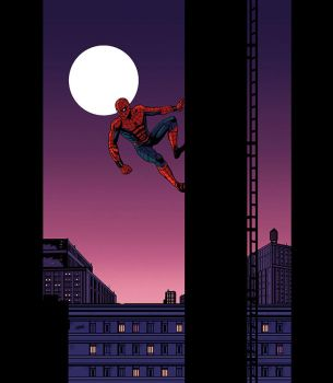 Spiderman by Cabbral