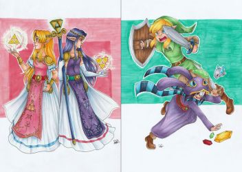 LoZ: A Link Between Worlds by IneMiSol