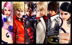 Tekken 6 New Characters Wall by mayahabee