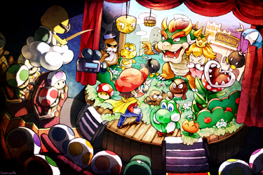 Super Mario World by Creamsouffle