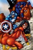 New Avengers 2 by Ed Benes by J-Mace
