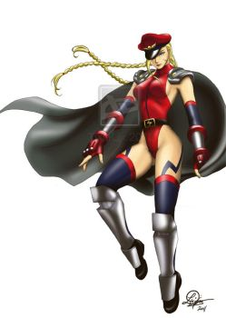 M.Bison's girl by TixieLix