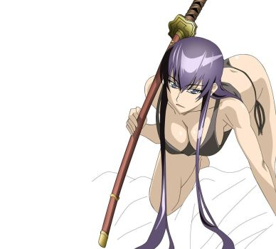 Saeko Busujima 8 Proj part 1 by Kiseki-Ryo