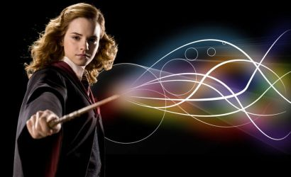 Hermione's spell Wallpaper by mAt-Vicky