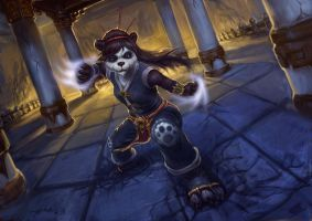 female pandaren by Plainandplain