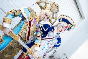Trinity Blood : Protectors by skre-i