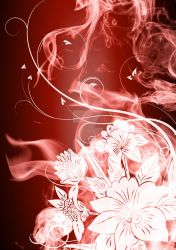 Smoke and flowers by Rywell