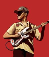 Tom Morello by Phasmageist