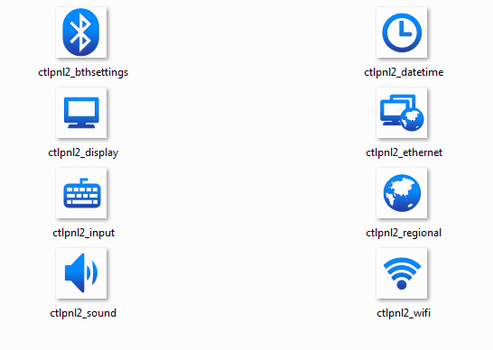 Some WinEMB 7 Compact Icons by AngelWZR