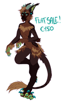 Anthro female royal FLAYSALE by LiLaiRa