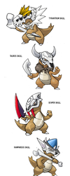 Marowak Variations meme by Darksilvania