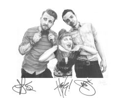 PARAMORE - Autographed by mhprice