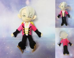 Victor Yuri on Ice Plush Doll by dollphinwing