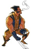WOLVIE WEDNESDAY by reau