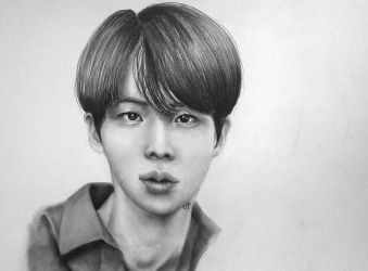 BTS - Jin by forevercoolie