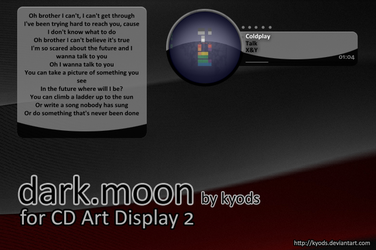Dark.Moon for CAD2 by kyods by WinampSkinners