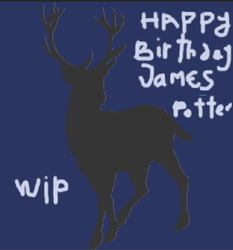 Happy Birthday James Potter I- WIP-DO NOT FAV by Mairelyn