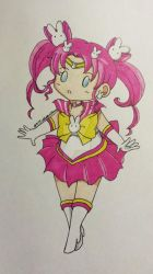 Chibi Sailor Parallel Moon/Kousagi by xStubbornGlaceon