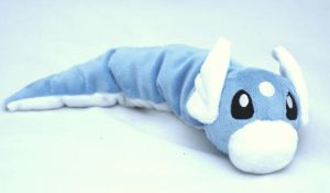 Dratini Plush by Draxorr